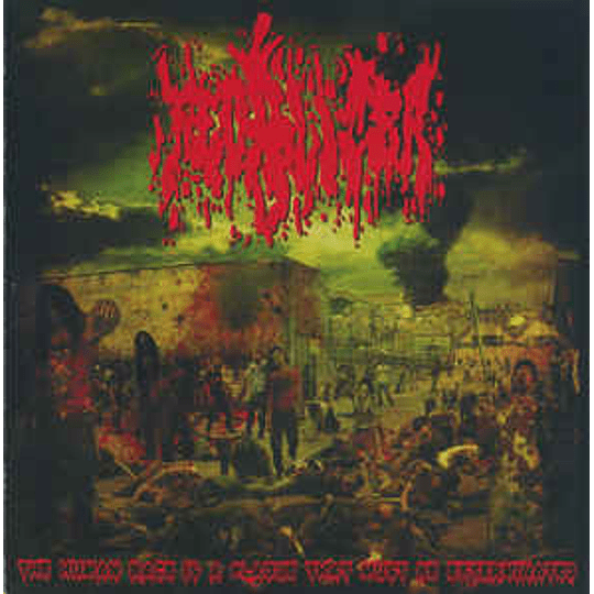 Fecalizer Vs. Mixomatosis – The Human Race Is A Plague That Must Be Exterminated / Mixomatosis CD