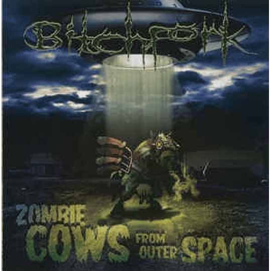 Bitchfork  – Zombie Cows From Outer Space CD