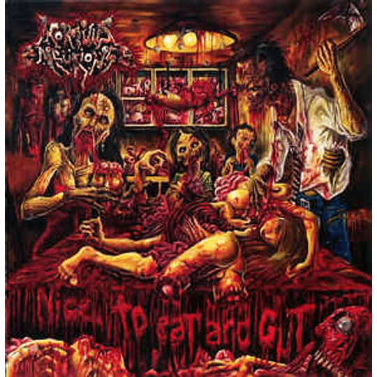 Mortuus Neurons – Nice To Eat And Gut CD
