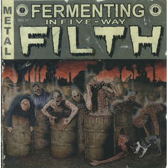 Cumbeast / Defleshuary / Decrepit Womb / Down From The Wound / Heinous Killings – Fermenting In Five-Way Filth