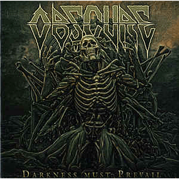 Obscure  – Darkness Must Prevail CD