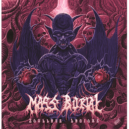 Mass Burial - Souless Legions CD
