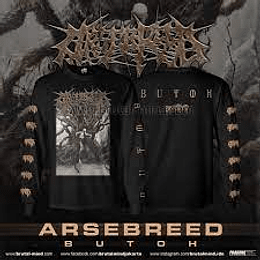 Arsebreed -Butoh longsleeve size M