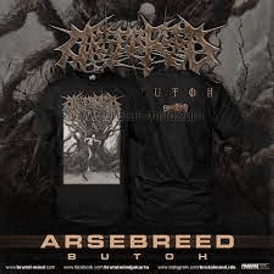 Arsebreed -Butoh t-SHIRT  size M