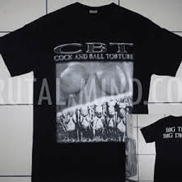 COCK AND BALL TORTURE BIG TITS  T-SHIRT SIZE L