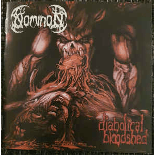 Nominon – Diabolical Bloodshed CD
