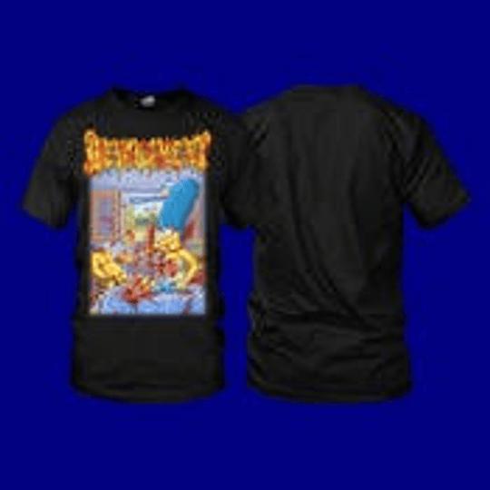 Devourment- The Simpsons ...t-shirt size L