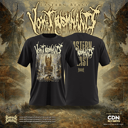 Vomit Remnants- Eastern beast T-Shirt SIZE S