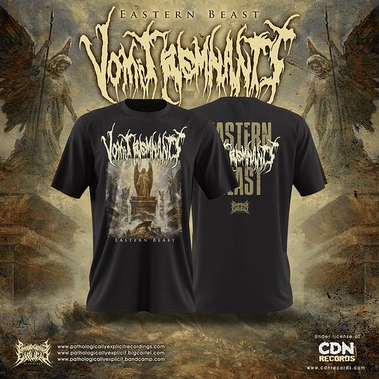 Vomit Remnants- Eastern beast T-Shirt SIZE M