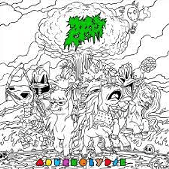 Zoebeast – Aduckolypse CD