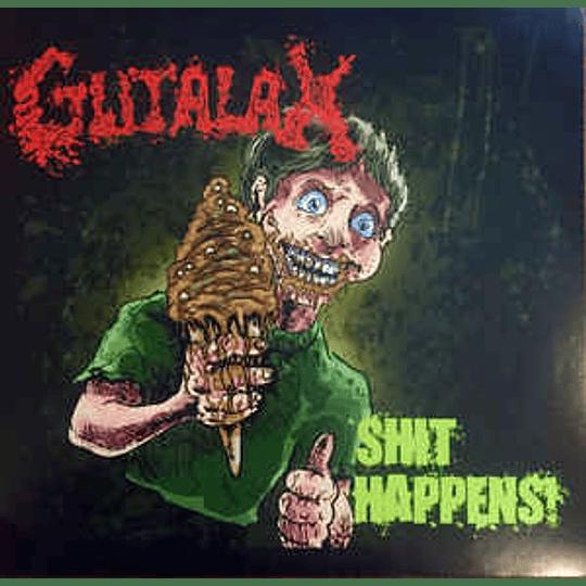Gutalax – Shit Happens! LP