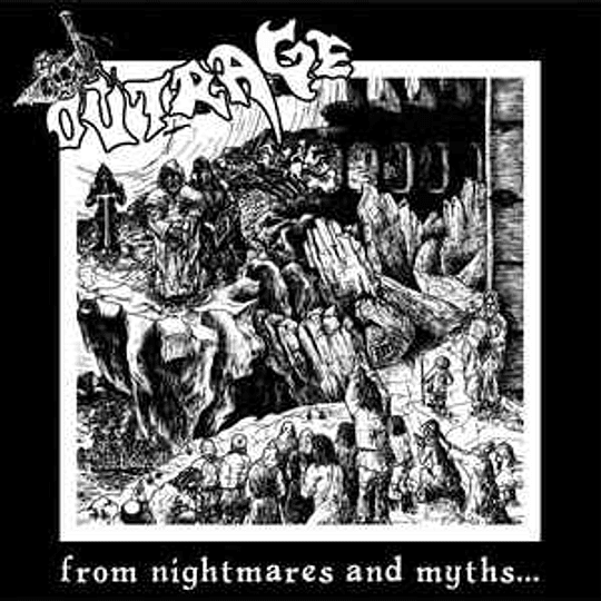 Outrage  – From Nightmares And Myths.. LP