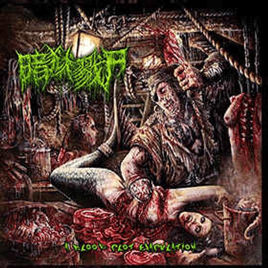 The Dark Prison Massacre – A Blood Clot Ejaculation LP