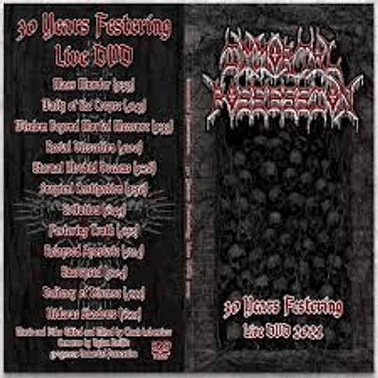 Immortal Possession: 30 Years Festering Live DVD