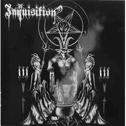Inquisition – Invoking The Majestic Throne Of Satan CD