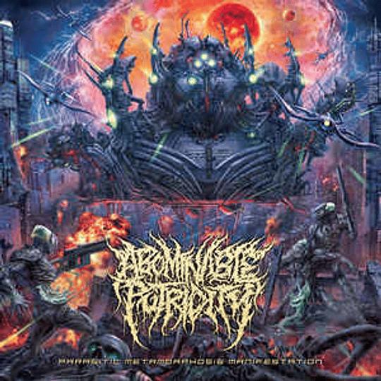 Abominable Putridity – Parasitic Metamorphosis Manifestation CD