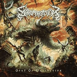 Saponification - Opus of Extinction  CD