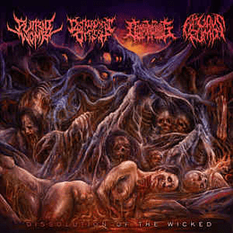 Putrid Womb, Disfigurement Of Flesh, Decomposition Of Entrails, Fatuous Rump – Dissolution Of The Wicked CD