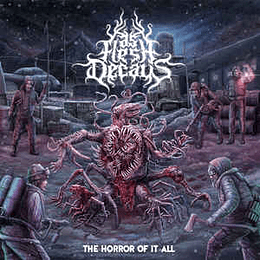 As Flesh Decays – The Horror Of It All CDR