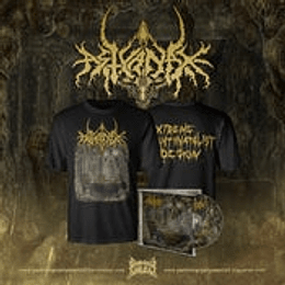 Astyanax- Extreme Antinatalist... T-SHIRT+CD COMBO SIZE XXL