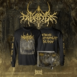 Astyanax- Extreme Antinatalist...LONGSLEEVE+ CD SIZE L