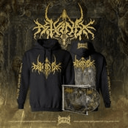 Astyanax- Extreme Antinatalist...HOODIE + CD SIZE L