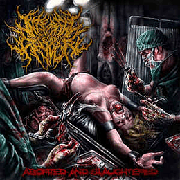 Internal Devour – Aborted And Slaughtered CD