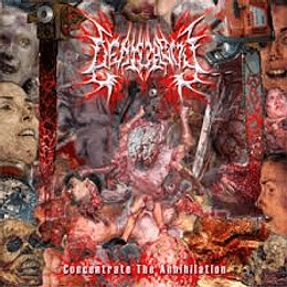 Deathguy – Concentrate The Annihilation CD