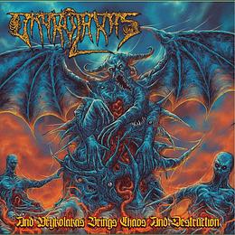 Vrykolakas – And Vrykolakas Brings Chaos And Destruction CD