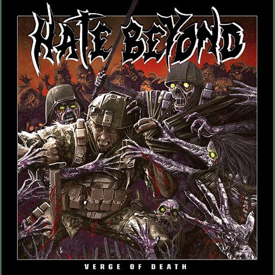 Hate Beyond – Verge Of Death DIGCD