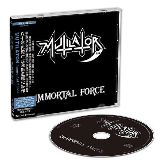 Mutilator  – Immortal Force CD