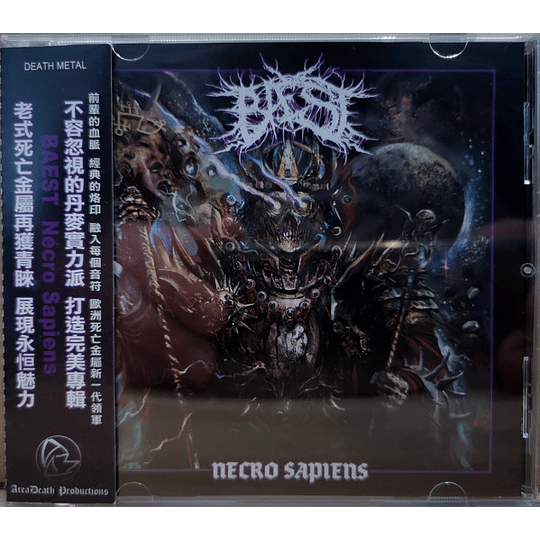 Bæst  – Necro Sapiens CD