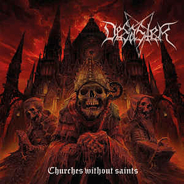 Desaster – Churches Without Saints CD