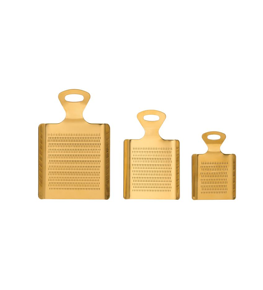 Set ralladores dorados