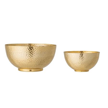 Bowls martillados dorados