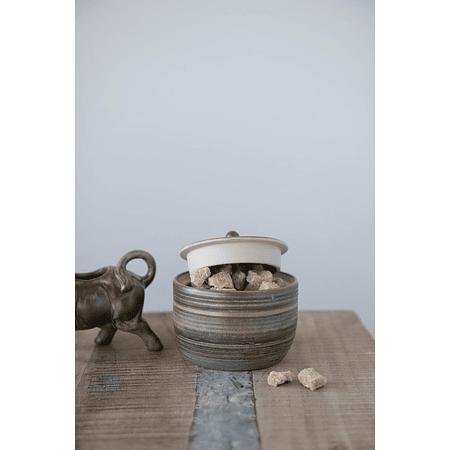 Azucarero cerámica