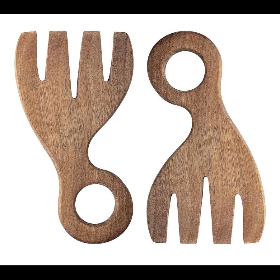 Cucharas madera ensaladeras