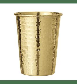 Vaso acero dorado