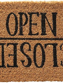 Limpiapiés Open/Closed