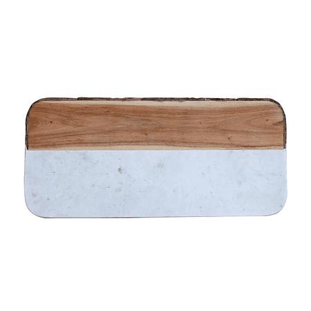 Tabla madera mármol