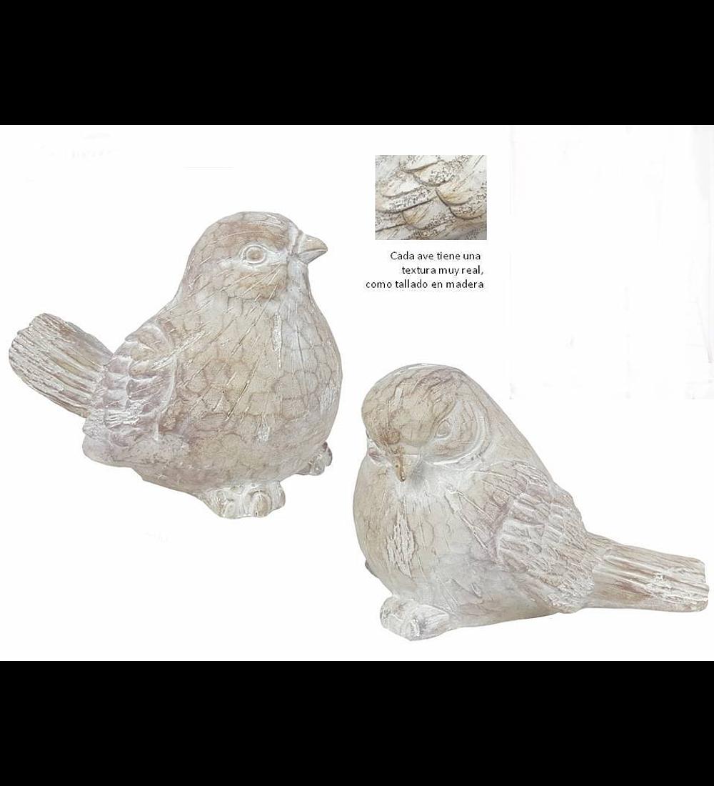 Pájaros XL resina