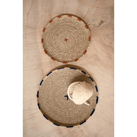 Set bandejas / individuales fibra