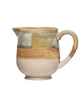 Cremero cerámica multicolor