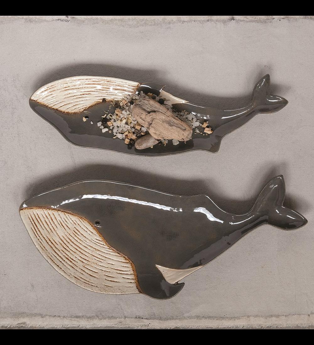 Set platos ballena