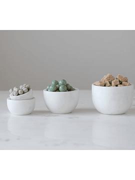 Set bowls mármol