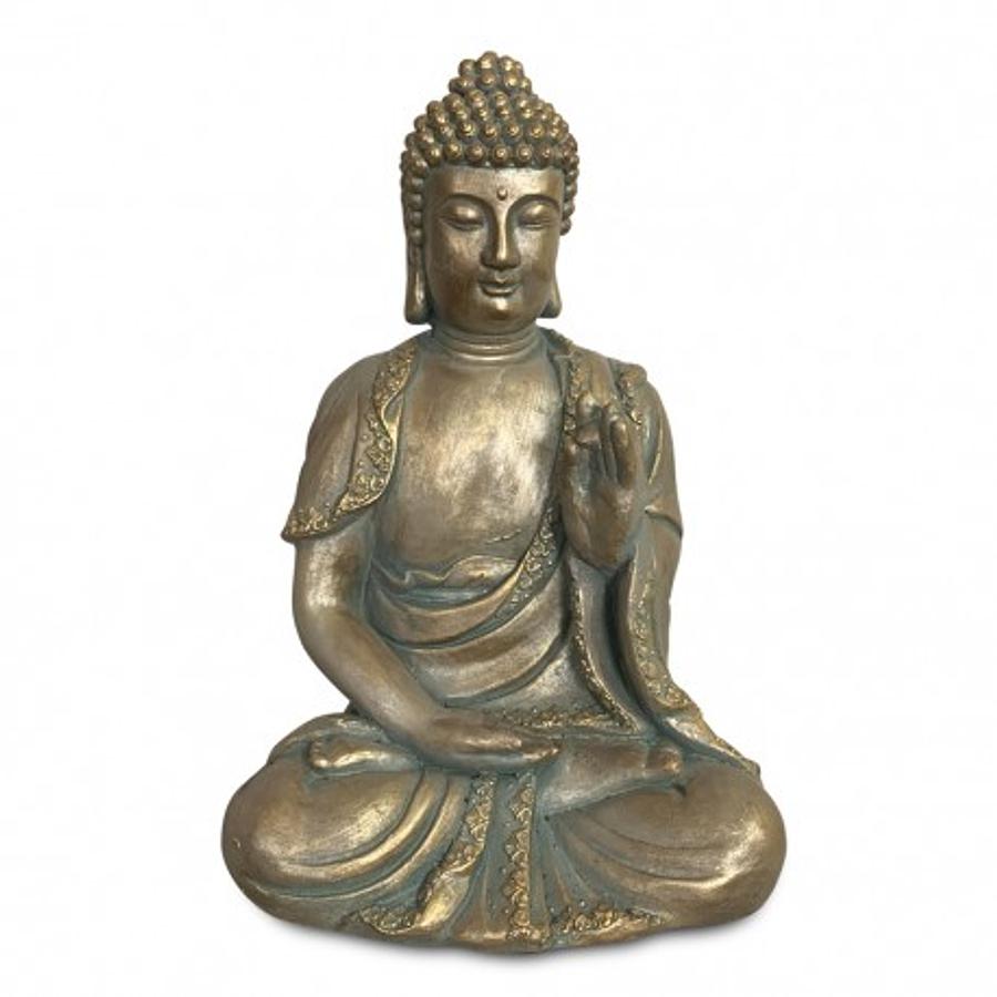 Buda resina meditando