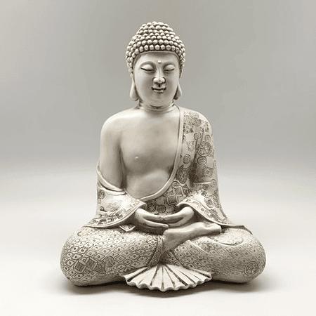 Buda blanco hueso