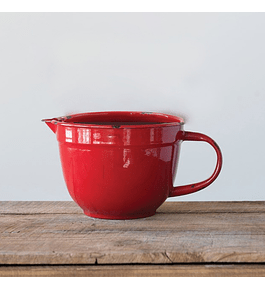 Bowl medidor rojo