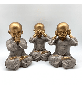 Trío monjes sabios