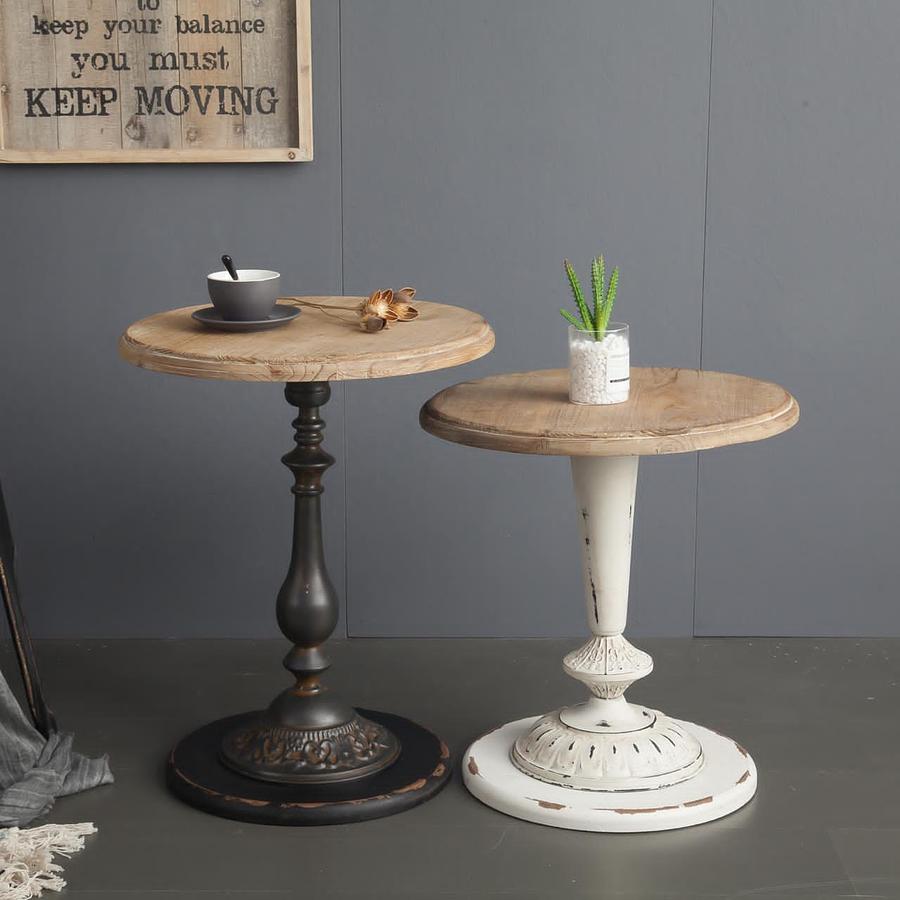 Mesas laterales madera